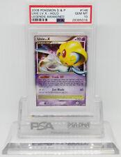 Pokemon LEGENDS AWAKENED UXIE LV X 146/146 HOLO PSA 10 GEM MINT #28385016