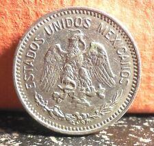 Beautiful Very High Grade Last Year Type 1914 Mexico 5 Centavos KM# 421