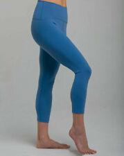 Tanya-B Women's Pewter Three-Quarter Legging Yoga Pants Size: L - SRP: $89.00