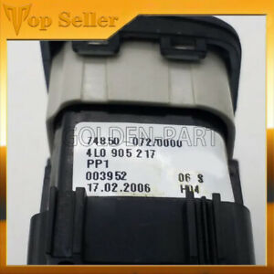 For Audi Q7 2007-2009 Start Stop Engine Black Button Switch 4L0905217