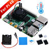 New! Square Cooling Fan 1/2 Dual Fan with Heatsink Cooler Kit For Raspberry Pi 4