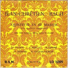 JEAN PIERRE RAMPAL, J.C. BACH QUINTET 50'S EP  BAM 1005