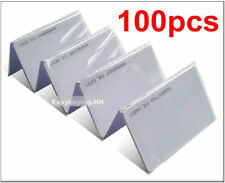 USA 100pcs 125KHz RFID Cards EM4100 TK4100 ID Cards For Door Control System