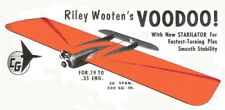 "Model Airplane Plans (UC): Voodoo 36"" Combat for .36 Engine by Riley Wooten"
