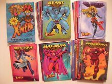 X-MEN - FULL  SET OF 50 BASIC CARDS FLEER/SKYBOX 1997 MARVEL COMICS