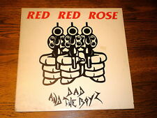 Dad And The Boyz LP Red Red Rose WAVE RECORDS 1987 DETROIT PUNK