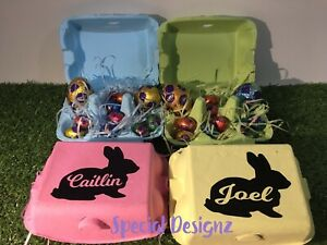 Personalised Easter Egg Cartons