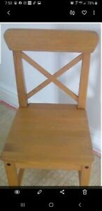 IKEA LEKSVIK Kids Children's Wooden Chair Brand New