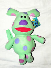 "BLUE'S CLUES -  SMALL  BACKPACK POLKA DOTS  DOLL 12"" TALL APPROX.   3+"