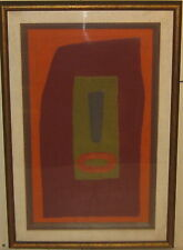 Vintage KENNETH DICKERSON Abstract Collage FOLK ART- Listed African American