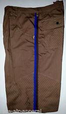 JORDAN RETRO 3/III BROWN/BLUE PIN STRIPE SHORTS SIZE 38R 2XL