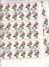 CCCP URSS 33 Flore Plantes aquatiques  feuilles  1 k 1984
