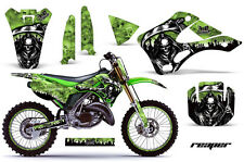 KAWASAKI KX 125/250 Graphic Kit AMR Racing # Plates Decal Sticker Part 99-02 RPG