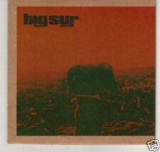 (B286) Big Sur, Desert Song - DJ CD