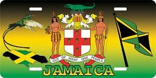 PERSONALIZED CAR LICENSE PLATES HOLDER JAMAICA LICENSE PLATE