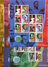 Millennium set of 6 sheets 1999 - 2001- MNH-IRELAND