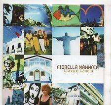 FIORELLA MANNOIA CD single PROMO 1 tr. MILTON NASCIMENTO Cravo e Canela ITALY