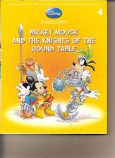 DISNEY LITERATURE CLASSICS 4 - MICKEY MOUSE AND THE KNIGHTS OF ROUND TABLE BOOK