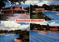 ALBERSDORF b. Dithmarschen AK Freibad 4 Ansichten 70er Jahre ungelaufen