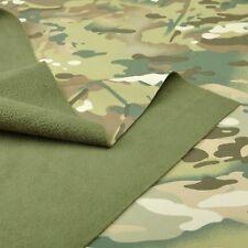 "Multicam Camoflage Waterproof Windproof Fleece Soft Shell Fabric 58""W Jacket"