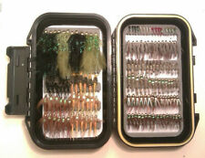 New ListingNew Sub-Surface Black Wp fly box w/ 140 assorted Wb, nymphs, wets to fly fish!