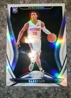 2020-21 Panini Certified Base Holo Rookie RC Saben Lee Detroit Pistons #160