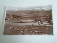 DINGWALL Snow Capped Summit of Ben Wyvis From Black Isles - Vintage RPPC §E196