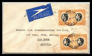 GP GOLDPATH: SOUTH WEST AFRICA COVER 1939 AIR MAIL _CV676_P07
