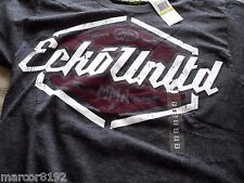 Ecko unltd MMA Men T-Shirt Tee Dark Gray Rhino Size Medium W/ Tag