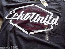 Ecko unltd MMA Men T-Shirt Tee Dark Gray Rhino Size Medium W/ Tag