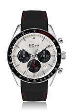 Hugo Boss HB 1513627 Trophy Chronograph Silicone Strap Men's Wrist Watch