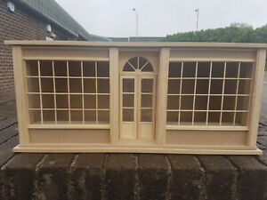 12th Scale Large Georgian Shop Kit with Glazing
