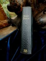 Holy Bible British & Foreign Bible Society 1912 Gold Edges Leather Color Maps