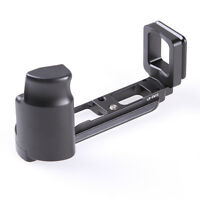Hand Grip With Quick Release L-Plate Bracket for Olympus OMD E-M10 EM10 Camera