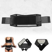 Self Heating Tourmaline Lower Back Belt Support Wrap Lumbar Waist Massage XL