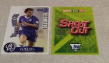 SHOOT OUT CARD 2003/04 (03/04) - Green Back - Chelsea - Wayne Bridge