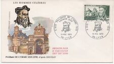 FRANCE 1970.F.D.C.PHILIBERT DE L'ORME .ARCHITECTE.OBLITERATION:LE 14/2/70 LYON
