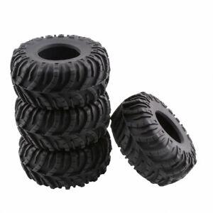 R/C 2.2 inch Crawler Tires w/Sponge 60*128mm 4PCS For Axial Rock Climbing Truck