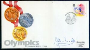 G.B. 1988 Sports 18p cover signed by Olympian Allan Wells (2020/11/20#07)