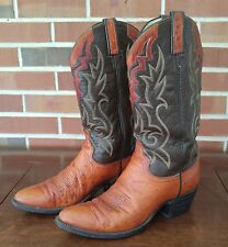 Vintage Dan Post Western Cowboy Boots - Labeled size 10 Fits like size 9