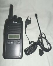 Icom Ic-F2000S Handheld Two Way Radio with Headset