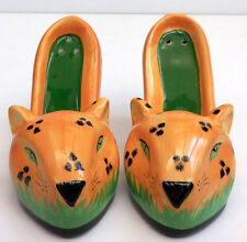 LEOPARD SHOE SALT AND PEPPER SET, VANDOR COMPANY 30006