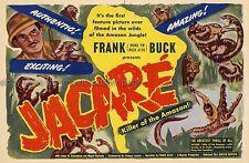Jacare: Killer of the Amazon 1942 Frank Buck US 7x10 Herald