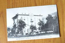 CARTOLINA TORINO BOBBIO PELLICE GRAND HOTEL RARA VIAGGIATA 1916 SUBALPINA QQ