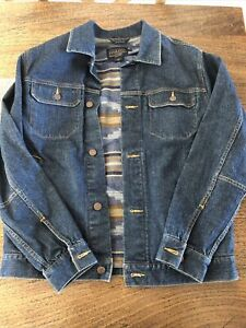 Pendleton Lined Denim Jacket With Vest (purchased In California)
