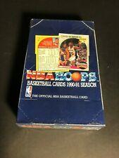 "2 boxes! - 1990-91 Basketball NBA HOOPS BOX Jordan, M. Jackson ""Menendez Bro's"""
