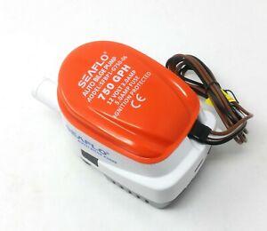 Pumpe der Bilge SEAFLO 12 Volt Tube 20 MM Mit Schwimmen Automatik Einbauschalter