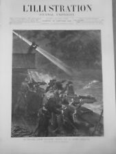 1872  A 1882 MITRAILLEUSE HOTCHKISS   6 JOURNAUX  ANCIENS COMPLETS