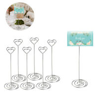 48pcs Wedding Table Centerpieces Number Card Holder Party Decorations