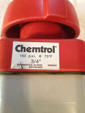 CHEMTROL CPVC CHEM-PURE DIAPHRAGM VALVE G51CDE, 3/4